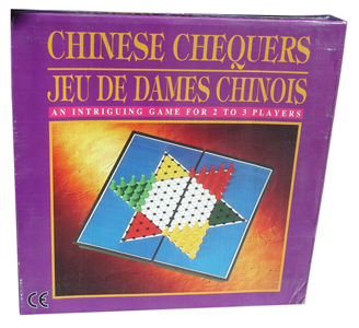 "9.5"" MAG. CHINESE CHECKERS"
