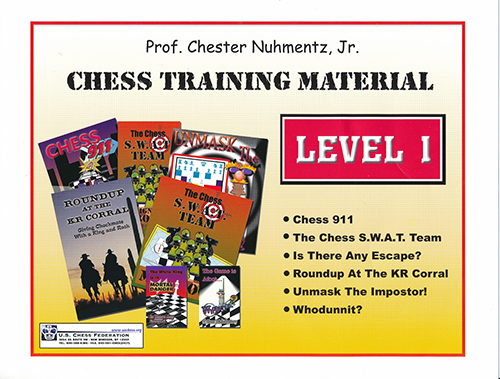 CHESS TRAINING MATERIAL LEVEL