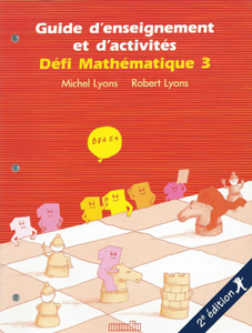 Defi Math. 3 Enseignement