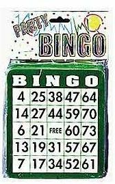 BINGO CARDS (50)