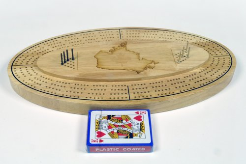 CRIBBAGE CANADA METAL PEGS