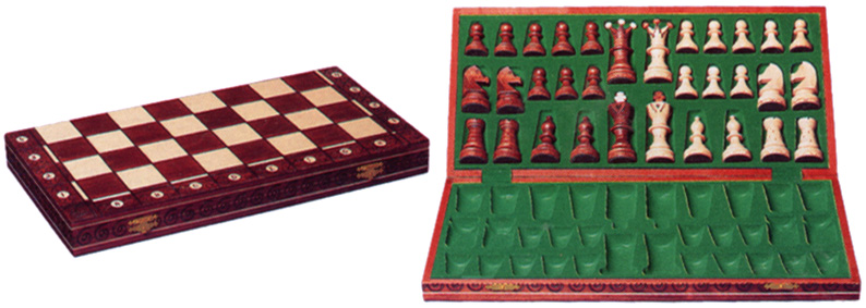 CONSUL CHESS SET FOLDING