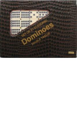 DOMINO DBL 12 IVORY/STDRD