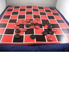 "Chess Board Cardboard 13"" X 13"""