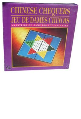 """9.5"""" MAG. CHINESE CHECKERS"""