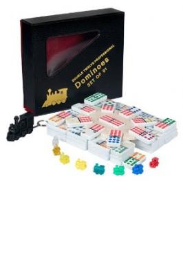 DOMINOES DBL 12 JUMBO COLOUR M