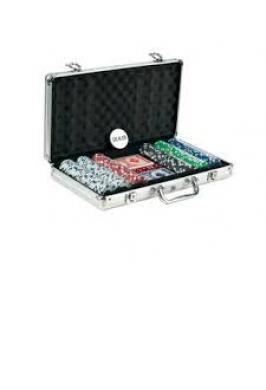 POKER 300 PCS WITH ALUMINUM CASE