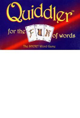QUIDDLER SHORT WORD GAME