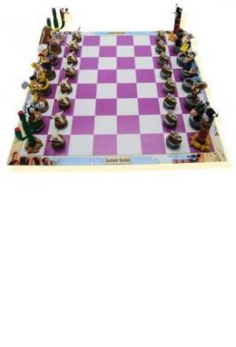 Lucky Luke Chess Set
