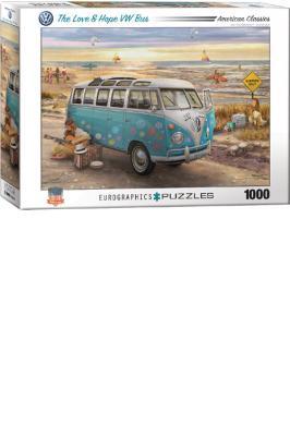 LOVE & HOPE VW BUS JIGSAW PUZ