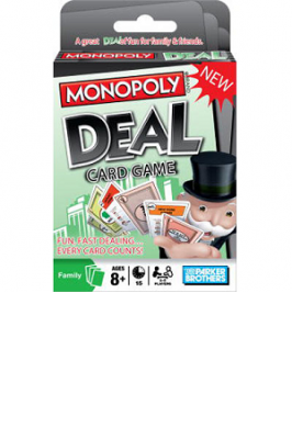 MONOPOLY DEAL CARD GAME (BIL)