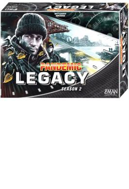 PANDEMIC LEGACY S2 BLACK ED