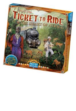 TICKET TO RIDE - AFRICA (BIL)