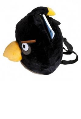 BACKPACK ANGRY BIRDS BLACK