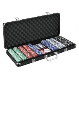POKER CHIPS 500 BLACK CASE