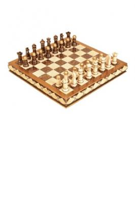 "Chess Set 17"" Diamond in Rough"