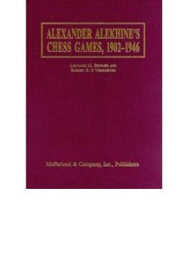 Alekhine's Chess Games (HC)