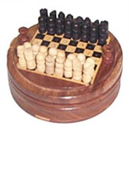 Magnetic Chess Set with Illustrations