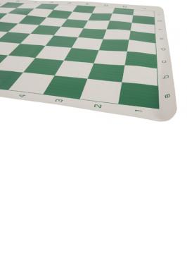 """GREEN VINYL BOARD ROLLABLE SQUARES 2.375"""""""
