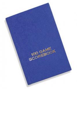 GAME SCOREBOOK 100 (HARDCOVER)