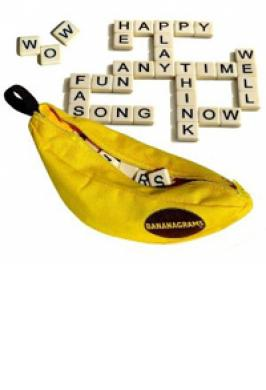 BANANAGRAMS (ANAGRAM GAME)