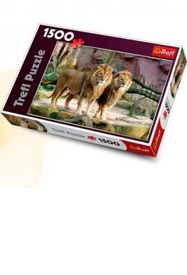 PUZZLE 1500 PCE LIONS