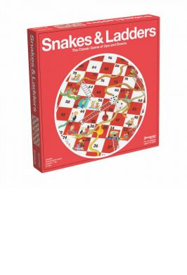 SNAKES & LADDERS (RED BOX)