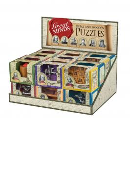 GREAT MINDS WOOD & METAL PUZZLE