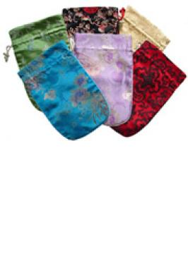Scrabble Silk Tile Bag