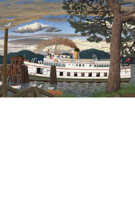 CAR FERRY AT SIDNEY B.C. 1000 PC JIGSAW PUZZLE