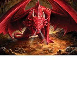 DRAGON'S LAIR 1000 PC JIGSAW PUZZLE
