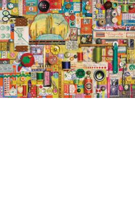 SEWING NOTIONS JIGSAW PUZZLE