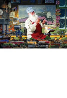 SANTA'S HOBBY 1000 PC JIGSAW PUZZLE