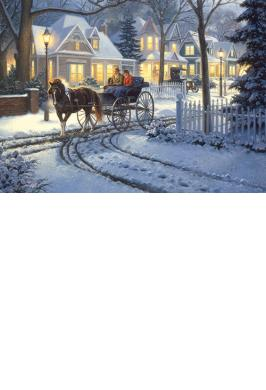 HORSE-DRAWN BUGGY JIGSAW PUZZLE