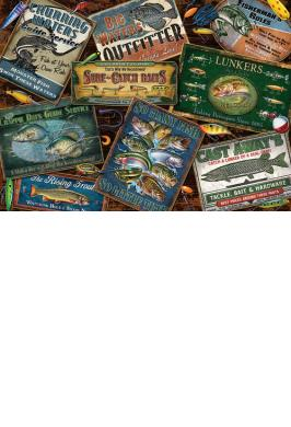 FISH SIGNS 1000 PC JIGSAW PUZZLE