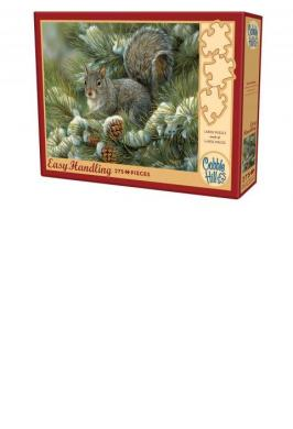 GRAY SQUIRREL JIGSAW PUZZLE