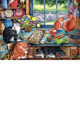 CATS RETREAT 1000 PC JIGSAW PUZZLE