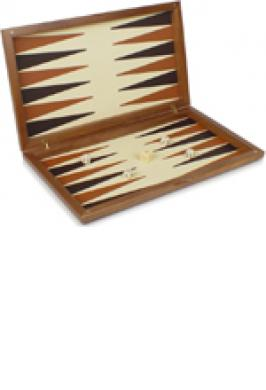 BACKGAMMON WOOD 13""