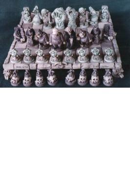 Horror Classic CeramicChess Set